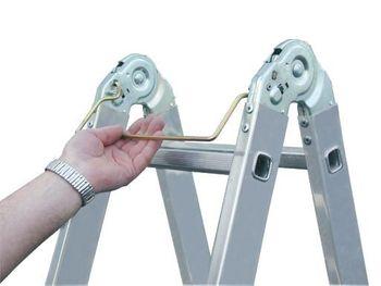 Krause Multi - Matic 4 x 3 / Gelenk - Universal Leiter – Bild 5