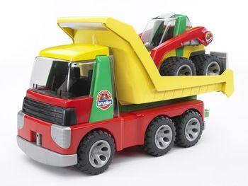 BRUDER Roadmax Transporter m. Kompaktlader – Bild 2