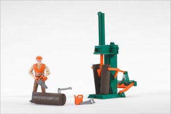 BRUDER bworld Figurenset Forstwirtschaft 62650 – Bild 1