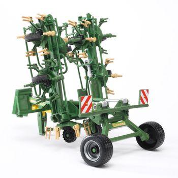 BRUDER Krone Zettwender Anbaugerät für Traktor Profi Serie Landwirtschaft 02224 – Bild 4