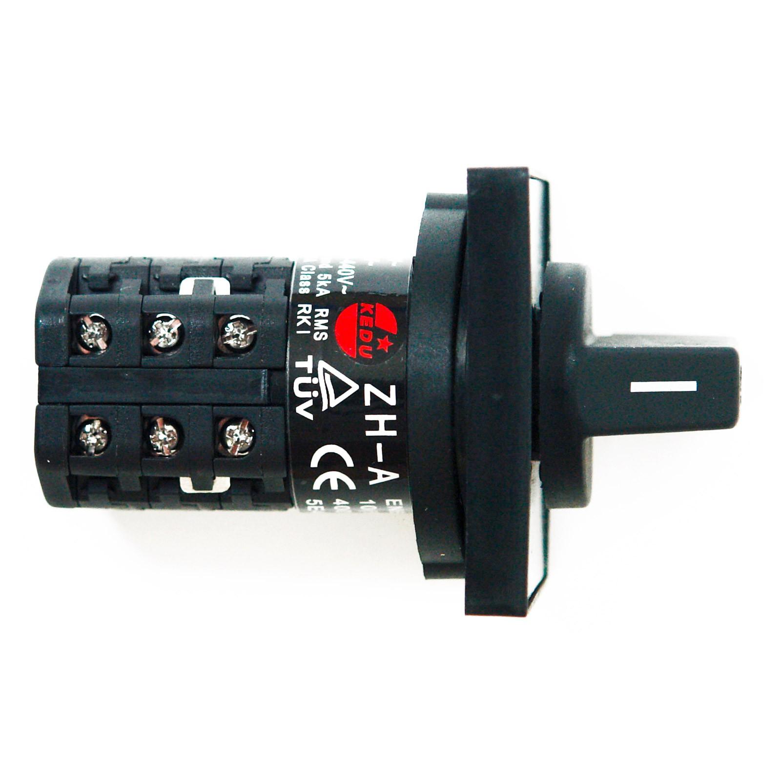 Einbau Wendeschalter 230//400 Volt Richtungsschalter Schutzschalter