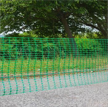 Schutznetz / Baunetz 50 x 1 m grün Schutzzaun / Bauzaun – Bild 5