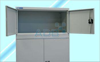 ADB Aufsatzschrank groß zu 40846 Werkzeugschrank / Flügelschrank 50x95x50 cm – Bild 1