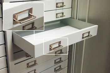 ADB Schubladenschrank Werkzeugschrank Metallschrank 40 Schubladen 1790x800x400mm – Bild 5