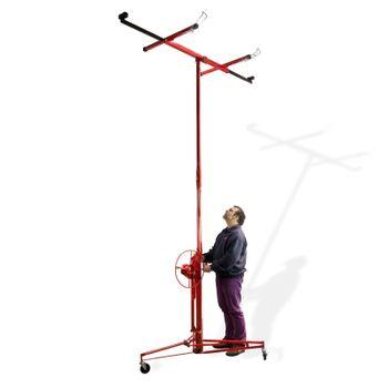 Plattenheber Paneelheber Plattenträger Gipsplattenheber Montagehilfe bis 68 kg – Bild 1