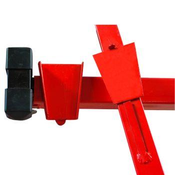Plattenheber Paneelheber Plattenträger Gipsplattenheber Montagehilfe bis 68 kg – Bild 4