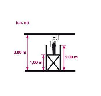 KRAUSE Corda Kleingerüst / Fahrgerüst Arbeitshöhe 3 m – Bild 5