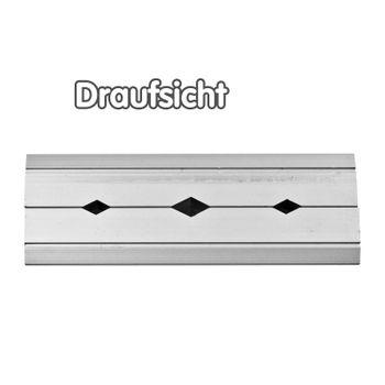 Aluminium Prismenbacken Schutzbacken Backen 125 mm mit Magneten für Schraubstock – Bild 5