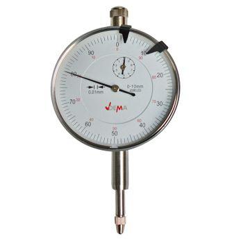 Metall Messuhr Messwerkzeug Messgerät analog 0-10mm / 0,01mm drehbare Skala – Bild 5