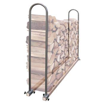 Brennholz Stapelhilfe Holz Universal Kaminholz Holzlager – Bild 1