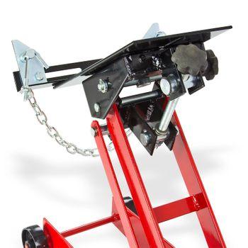 Getriebeheber 450 kg klein Motorheber Faulenzer Getriebe Motorenheber Wagenheber – Bild 4