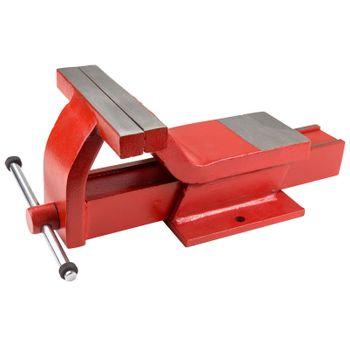 Stahl Schraubstock Werkbankschraubstock Tischschraubstock Werkstatt 175mm – Bild 1
