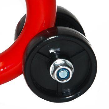 Motorradständer Montageständer Motorrad Motorradheber bis 200 kg mit Rollen – Bild 2