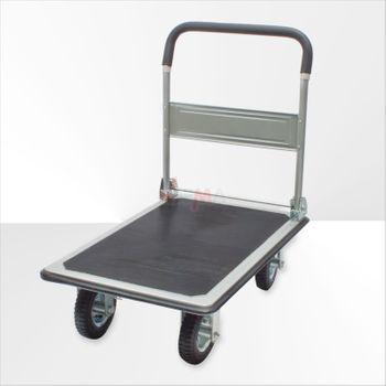 Handwagen / Transportwagen mit Luftbereifung klappbarer Griff – Bild 4