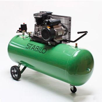 Profi Kompressor 500/10/200 230 V 2 Zylinder 10 bar 200 l Kesselinhalt – Bild 1