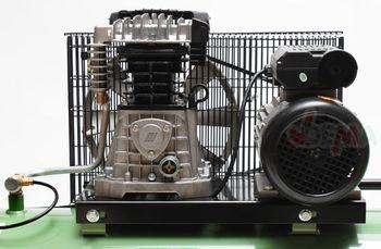 Profi Kompressor 500/10/200 230 V 2 Zylinder 10 bar 200 l Kesselinhalt – Bild 5