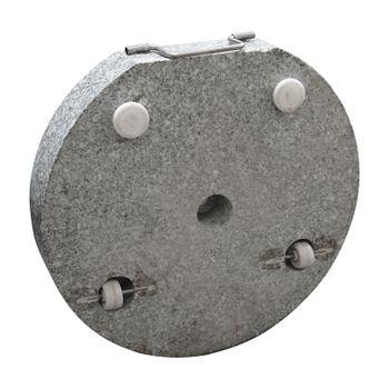 Sonnenschirmständer Ø 45 cm rund granit/grau Schirmständer Sonnenschirm-Ständer – Bild 2