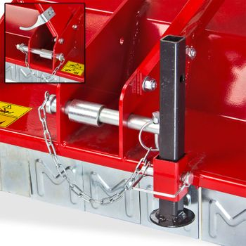Schlegelmulcher Mulcher Schlegelmähwerk Mähwerk SLM 105 für Traktoren bis 30 PS – Bild 4