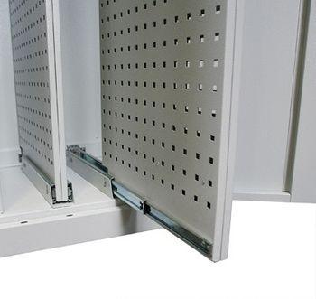 ADB Vertikalauszugsschrank VS2 Werkzeug Schrank Lichtgrau RAL 7035 – Bild 5
