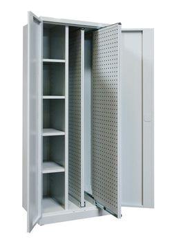 ADB Vertikalauszugsschrank VS2 Werkzeug Schrank Lichtgrau RAL 7035 – Bild 1