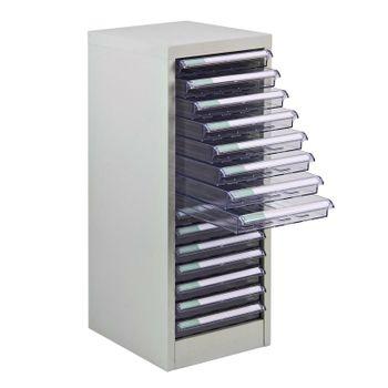 ADB Metall Schubladencontainer / Schubladenbox 15 PVC Schubladen – Bild 1