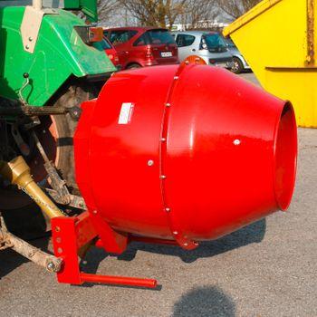 Zapfwellen Betonmischer Zwangsmischer Futtermischer Mischer für Traktor 300 L – Bild 2