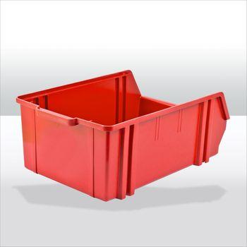 Sichtlagerkasten Stapelbox Gr. 5 rot – Bild 3