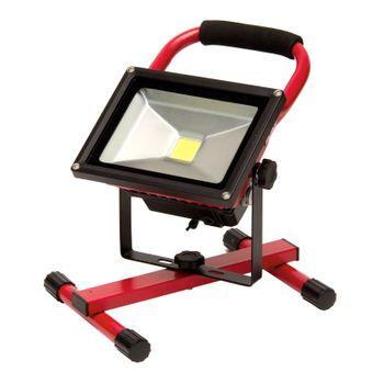 Akku LED Arbeitsleuchte Lampe LAK 10 7.4 V Li Ion – Bild 5