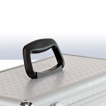 Werkzeugkoffer Alukoffer Minikoffer Anglerkoffer mit Werkzeugträger – Bild 5