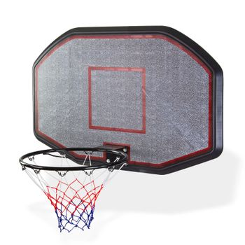 Basketballbrett mit Ring und Netz Basketballset Basketball Streetball Set XXL – Bild 1