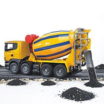 BRUDER Scania R-Serie Betonmisch LKW 03554 – Bild 2