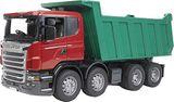 BRUDER Spielzeug Modell Scania R-Serie Kipper Kipp LKW mit Kippmulde Mulde 03550 001