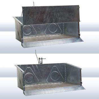 Heckcontainer NSL 150/90 verzinkt – Bild 3
