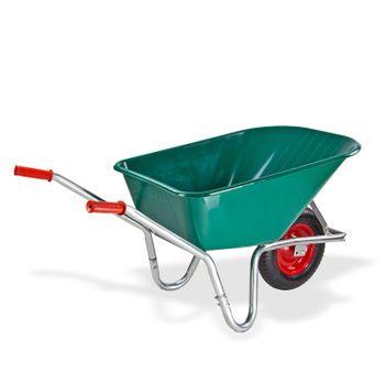 Garten Schubkarre Transportkarre 100 Liter PVC Kunststoffwanne Karre NEU 20887 – Bild 3