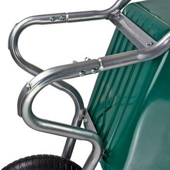 Garten Schubkarre Transportkarre 100 Liter PVC Kunststoffwanne Karre NEU 20887 – Bild 6