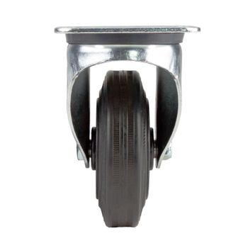 Lenkrolle mit KS-Felge Transportrolle Rolle Möbelrolle Industrierolle d = 160 mm – Bild 3