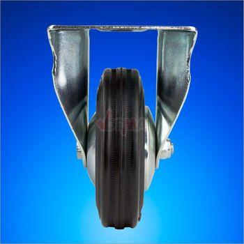 Bockrolle Transportrolle Rolle Möbelrolle Industrierolle d = 100 mm – Bild 2