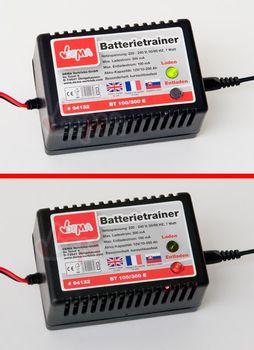 KFZ Batterietrainer Batterie Ladegerät 12 Volt Batterieladegerät Batterielader – Bild 3