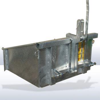 Heckcontainer Kippmulde Heckmulde ISLM 3-15 verzinkt – Bild 4