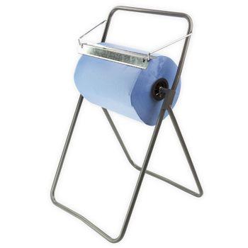 Metall Putztuchrollen Bodenständer 40 cm für Putztuchrolle Putztuch – Bild 1