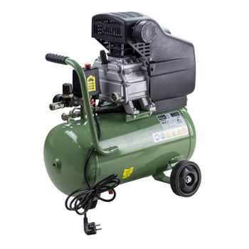 Kompressor 24 Liter mit Öl Pressluft Druckluft Kolbenkompressor NEU 24201 – Bild 4