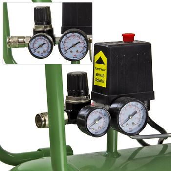 Druckluft Kompressor Kolbenkompressor Druckluftkompressor 400/8/100 230V – Bild 6