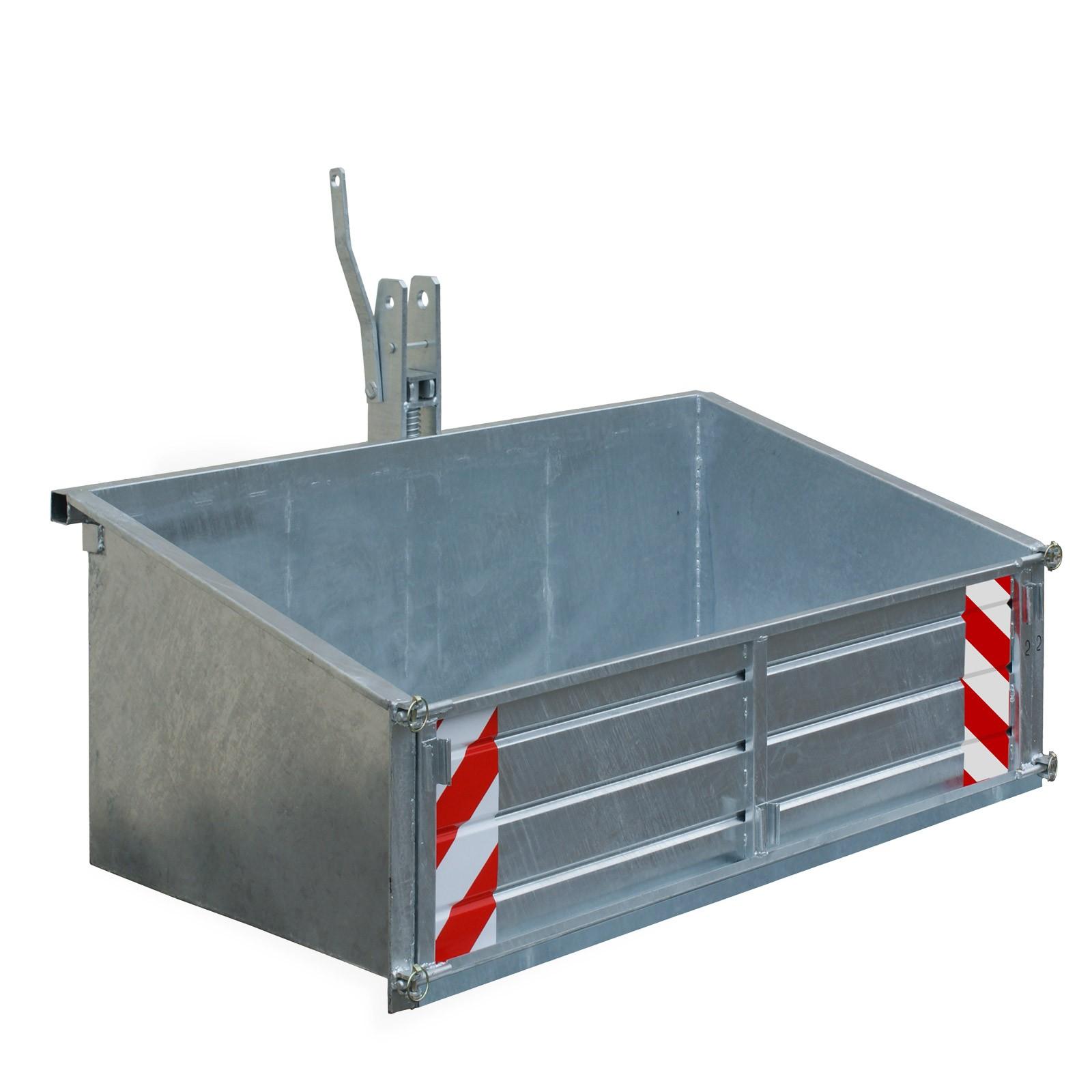 traktor schlepper heckcontainer heckmulde container mulde. Black Bedroom Furniture Sets. Home Design Ideas