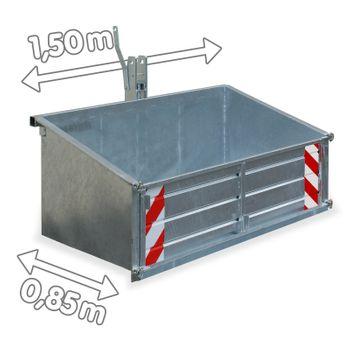 Heckcontainer LSL 15 verzinkt – Bild 2