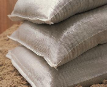 NOOR Hochwasser Sandsack PP Sack 10er Pack weiß 20 kg