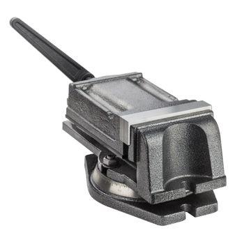Präzisionsmaschinen Bohrmaschinen-Schraubstock Maschinenschraubstock 125 mm – Bild 5