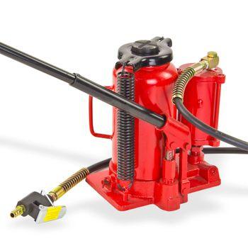 Stempelwagenheber Wagenheber Stempelheber 20 t pneumatisch hydraulisch – Bild 2