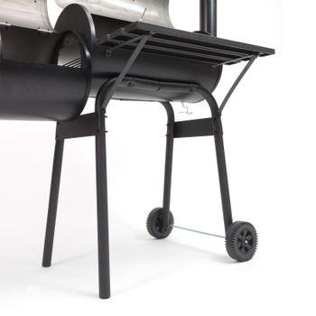 "Smoker Kamingrill ""Alabama"" Grillwagen Grill Barbecue-Grill – Bild 4"