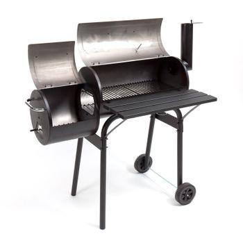 "Smoker Kamingrill ""Alabama"" Grillwagen Grill Barbecue-Grill – Bild 2"