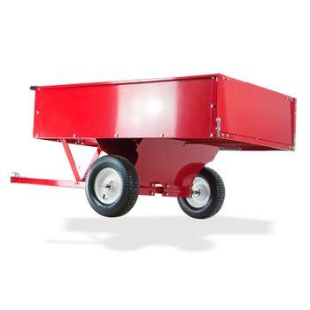 Transportanhänger groß XL 500kg kippbar Anhänger für Rasentraktor – Bild 5